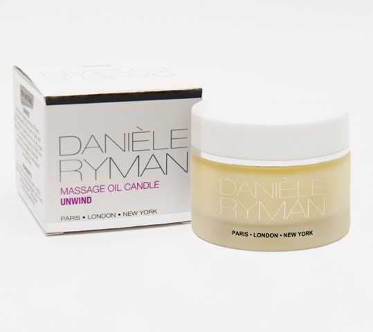 Daniele Ryman massage oil candle