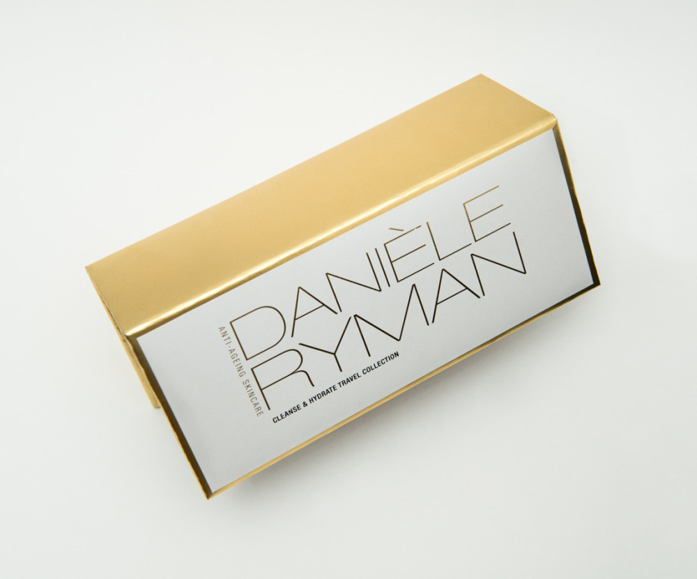Danièle Ryman travel skincare collection