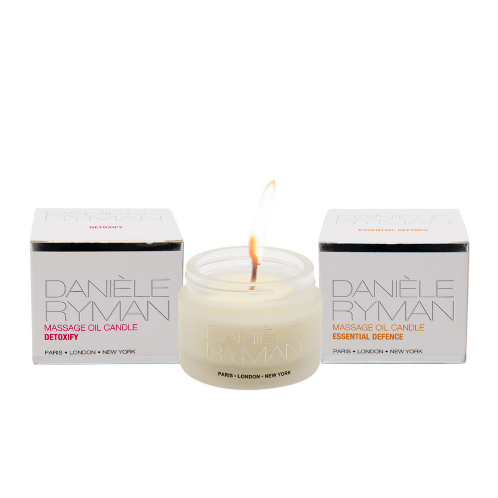Daniele Ryman Massage Oil Candles